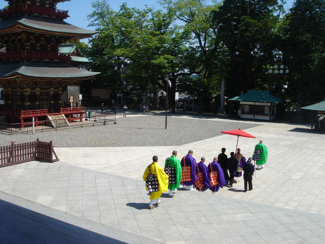 成田山新勝寺 僧侶さん達