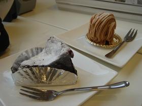ラファリーヌのモンブランとショコラ