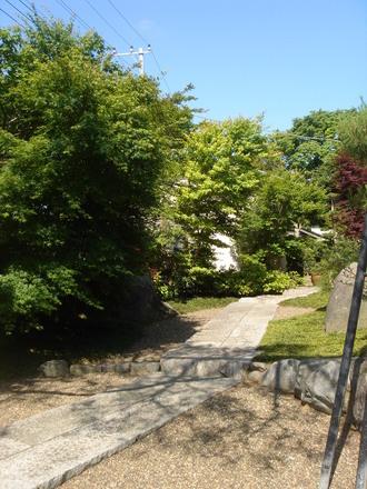 2010年5月31日門側から見たぐるはし宅