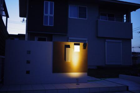 神栖市 表札照明 全体