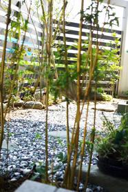 シンプルモダン 和の庭