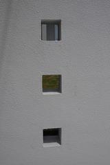 鹿嶋市外構工事施工現場門壁