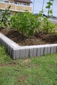 鹿嶋市植栽工事groom家庭菜園