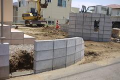 2010年6月5日鹿嶋市外構工事groom施工中