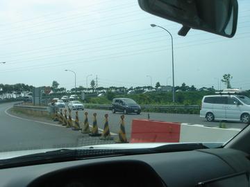 2010年7月25日東関道潮来IC
