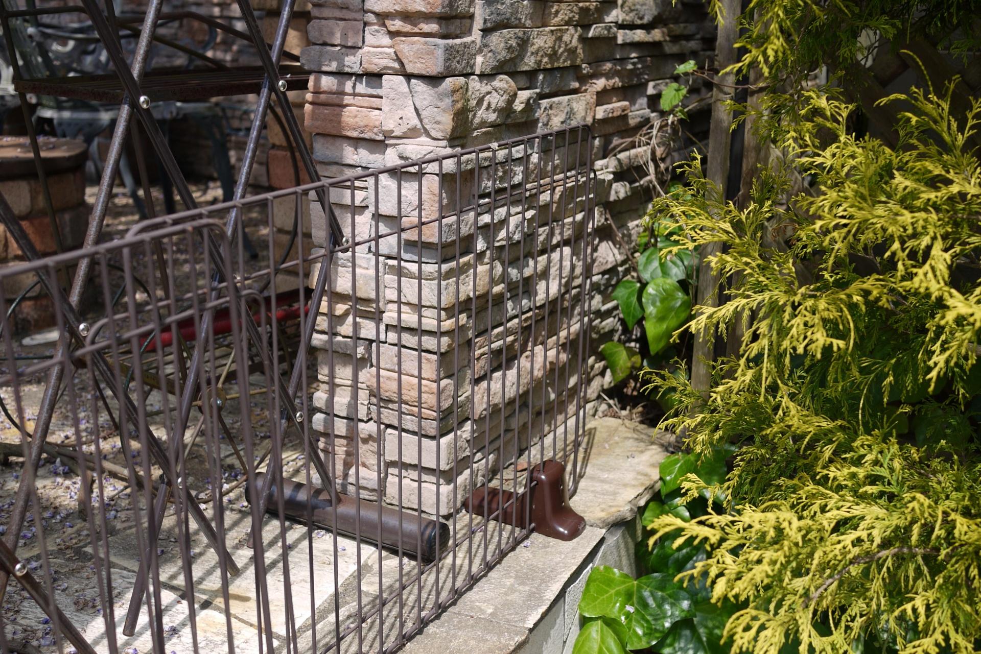 お庭の入り口 施工前