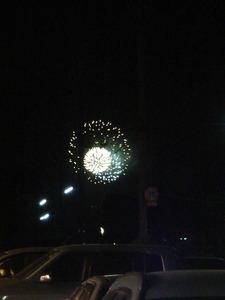 潮来の花火