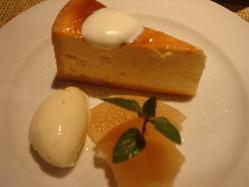夢時庵 チーズケーキ