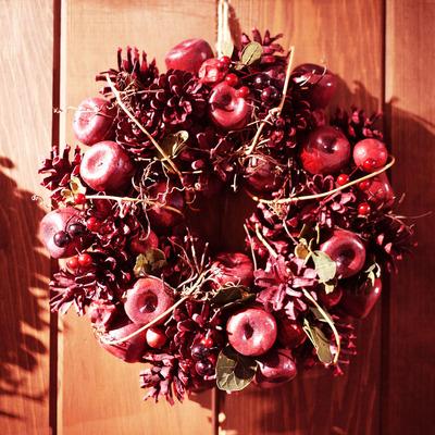 クリスマスリース りんご 1500円