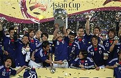 アジアカップ優勝