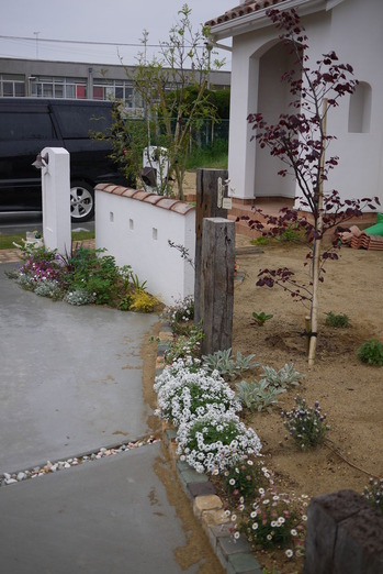 K様邸 花壇