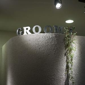 groom 名所?