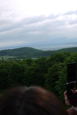 気球 400mからの眺め