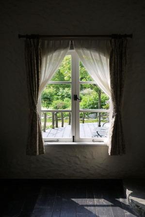 グリーンハウス 窓