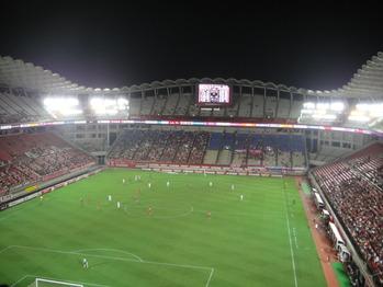2011年8月17日 鹿島アントラーズ対セレッソ大阪 @鹿島スタジアム