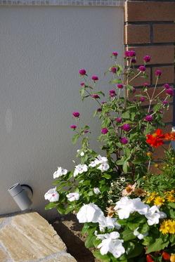 お客様宅のお花
