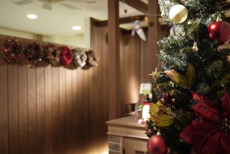 クリスマスツリー&リース!!