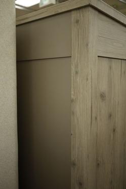 タカショー ガーデン収納庫 クラシックホワイト
