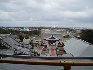 満願寺からの眺め。