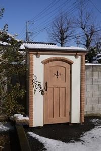 雪化粧をしたカンナキュート★