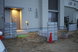 K様邸 塗り壁下地ブロック07