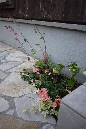 ちょっとした花壇スペース