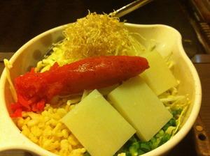 明太餅チーズ