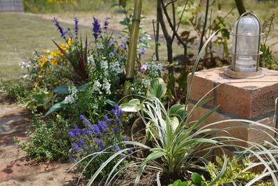 お庭内植栽スペース