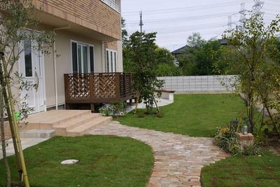 M様邸のお庭