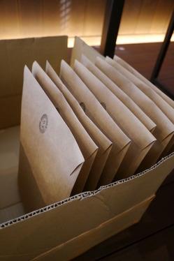 郵送準備。。