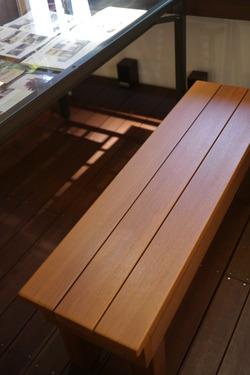 木製ベンチ (1)