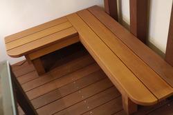 木製ベンチ (2)