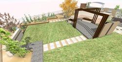 K様猫と遊ぶお庭 (7)