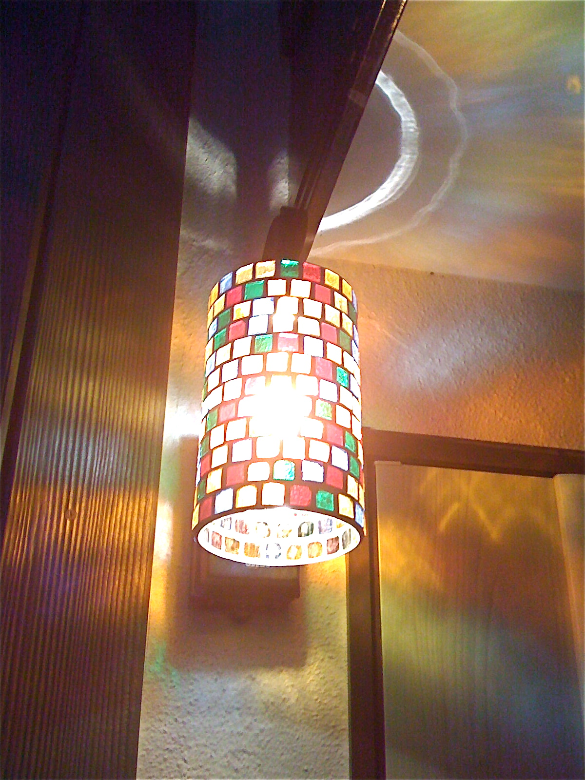 ステンドグラス照明2